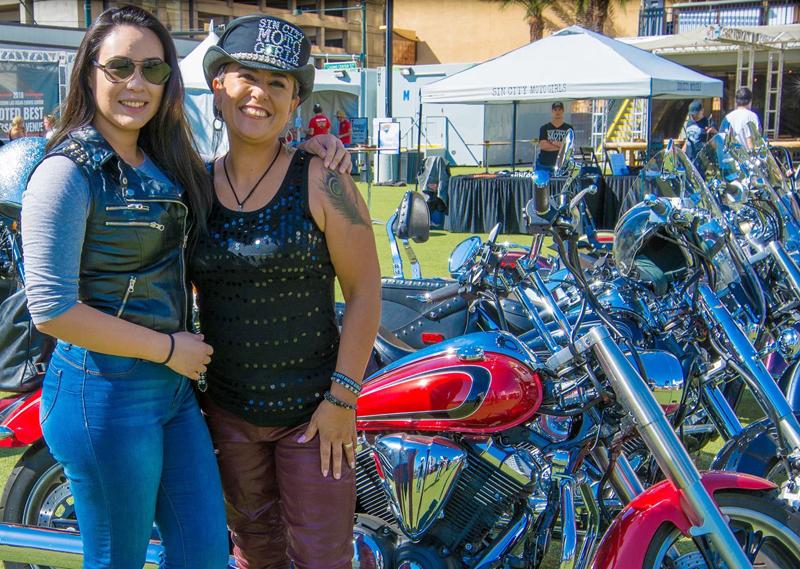 mother daughter riding motorcycles veronica celeste