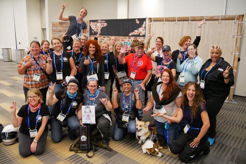 Women Riders World Relay WRWR Hits American Road AIMExpo