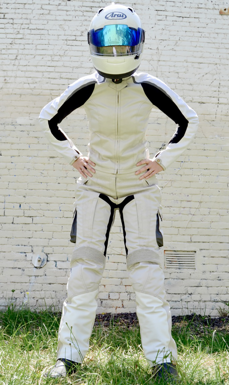 protective riding apparel for women raven rova falcon adventure pants and jacket