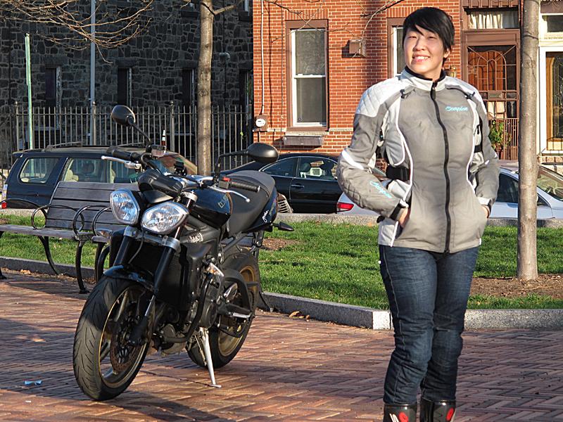 review three season textile jacket from scorpion joanne donn