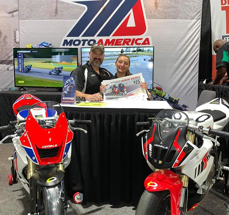 reader story dad is my biggest advocate jasmine nicols racer motoamerica