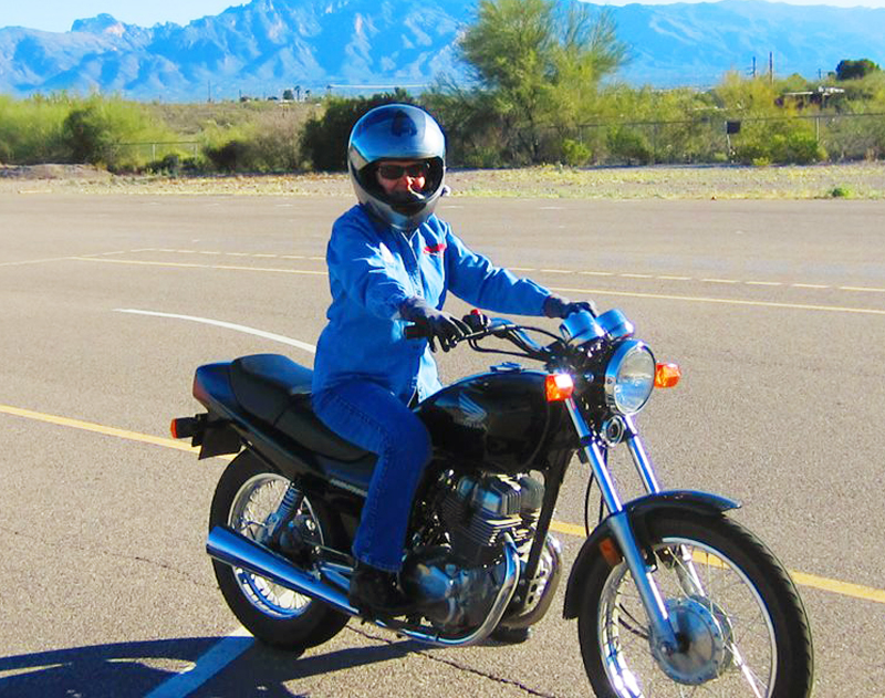 learning to ride the right way msf honda nighthawk 250