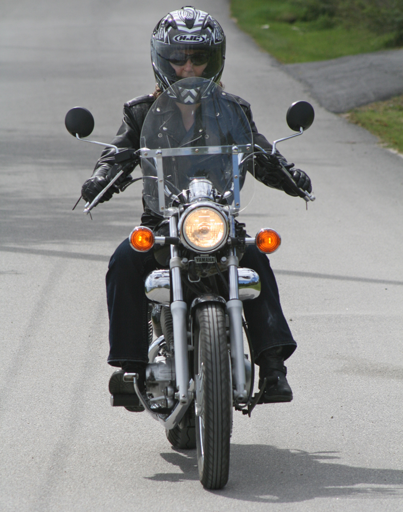 I ride because I can Susan Stevens