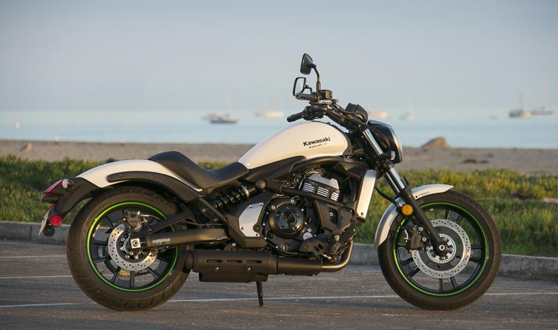 motorcycle review 2015 kawasaki vulcan s white
