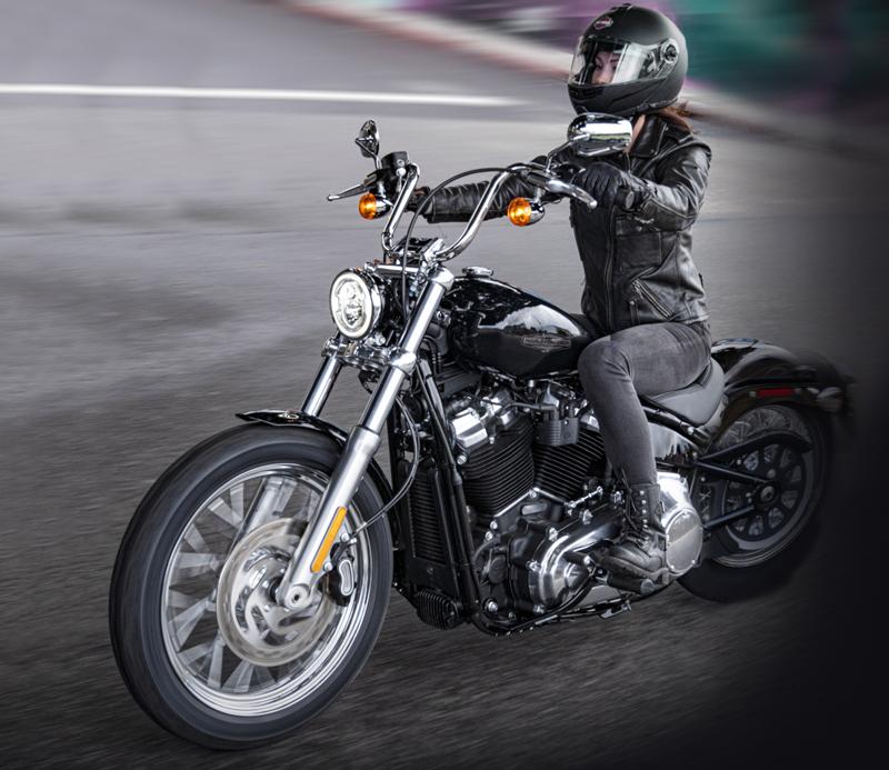 2020 harley-davidson softail standard first look woman rider