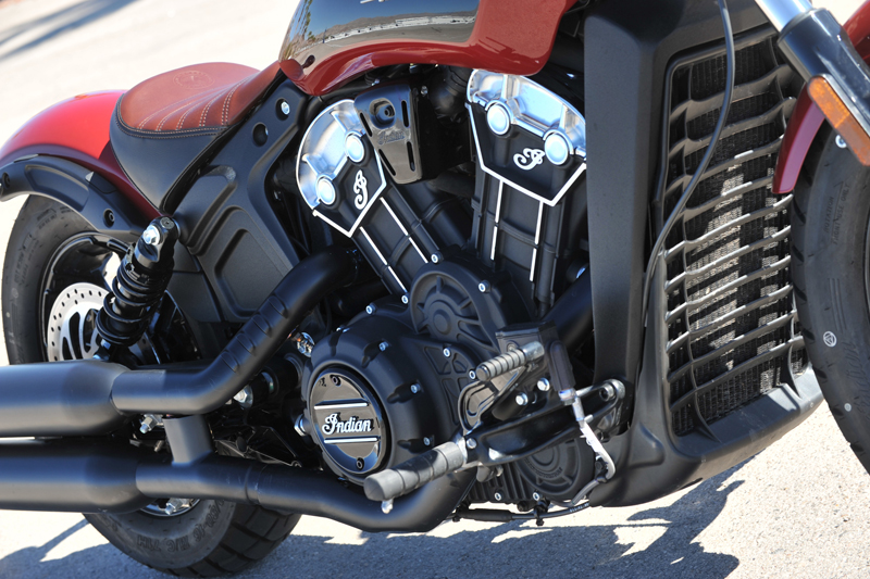 review 2018 indian scout bobber engine