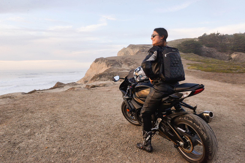 review the lauren bag by motochic sportbike