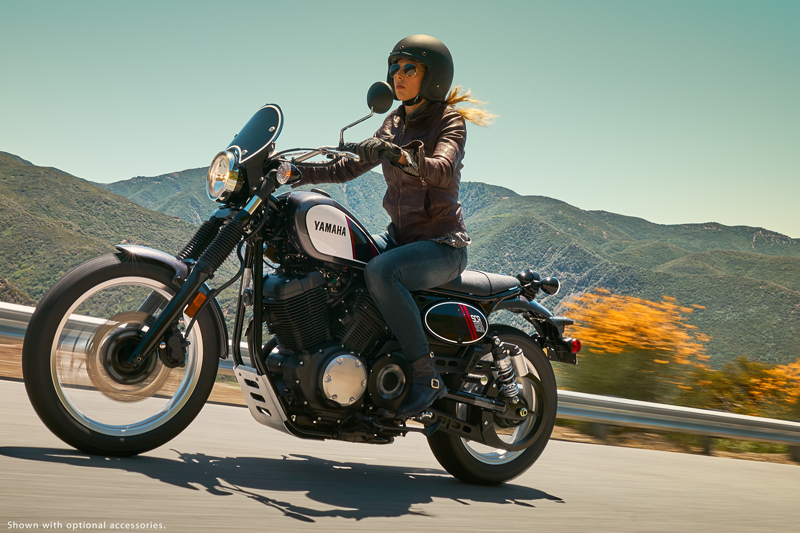 new motorcycles for 2017 yamaha scr950 woman rider