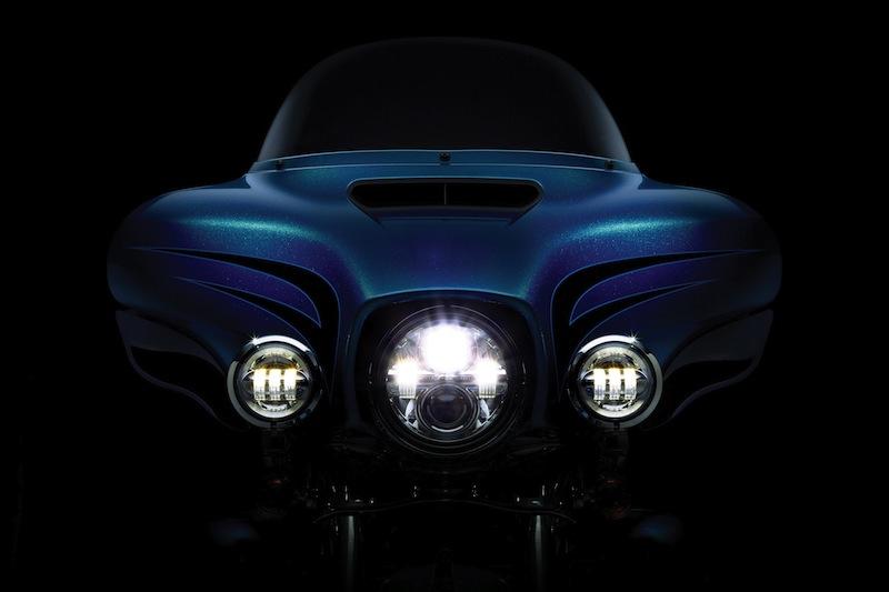 Harley-Davidson's Project RUSHMORE Daymaker LED Lighting System
