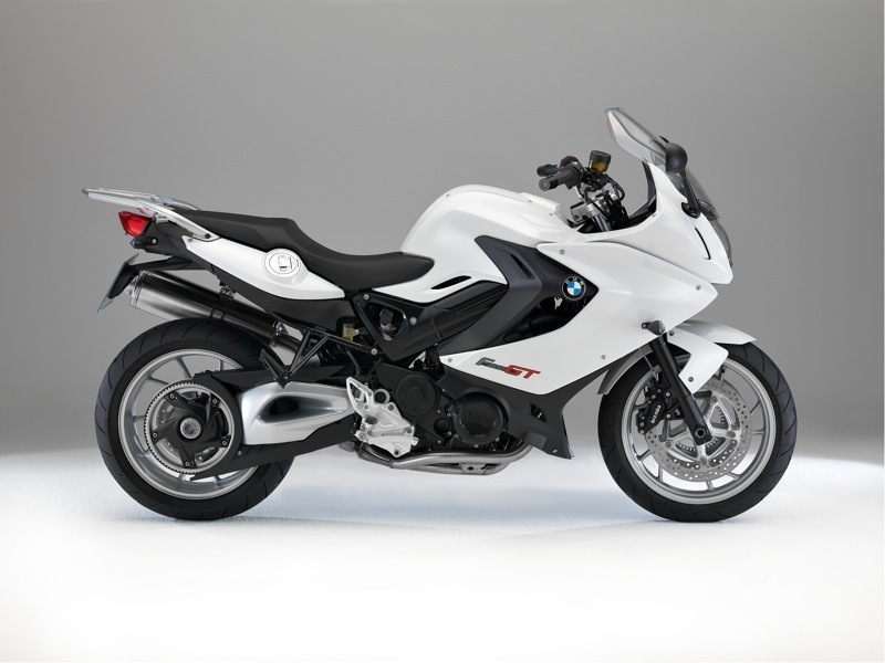 BMW F 800 GT Review White
