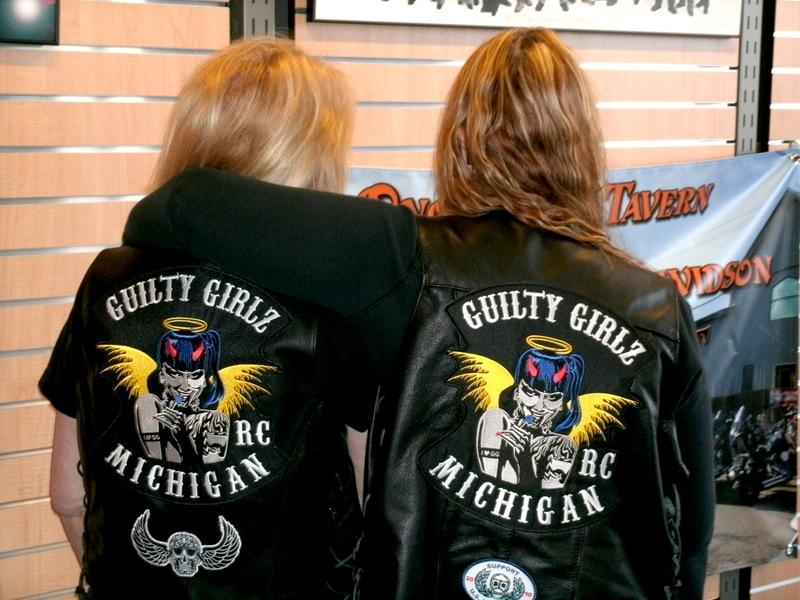 Guilty Girlz Riding Club Jackets