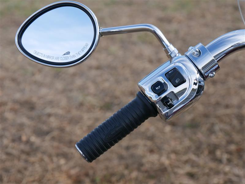 review 2016 2017 indian motorcycle springfield left grip