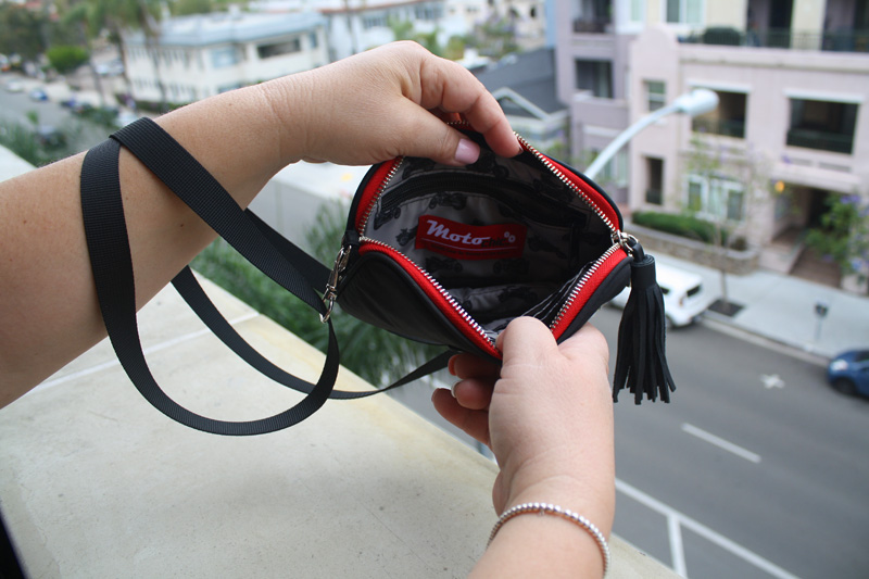 review the lauren bag by motochic valerie interior