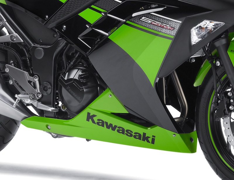 Kawasaki Ninja 300 Review Oil Filter