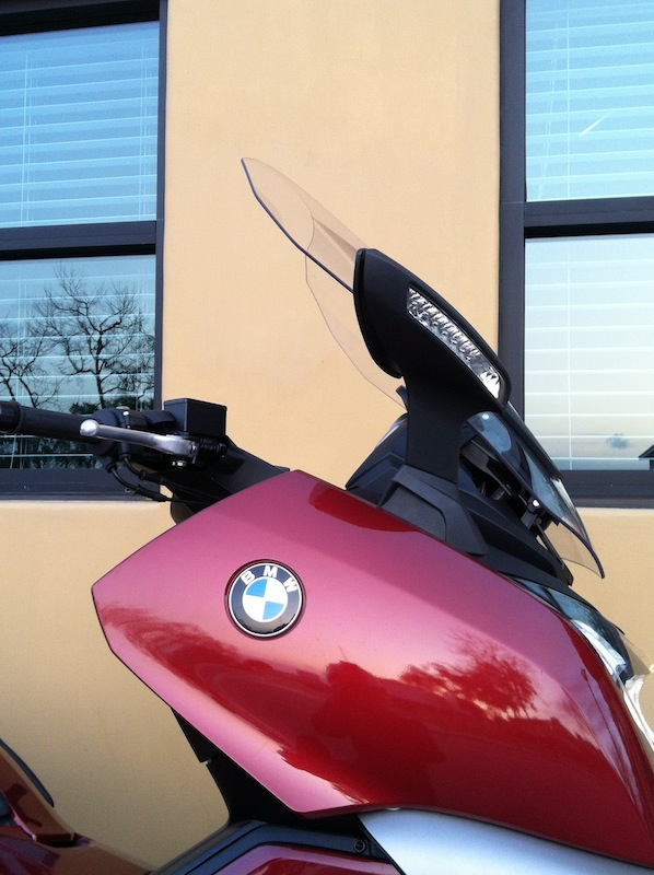BMW C 650 GT Review Windshield
