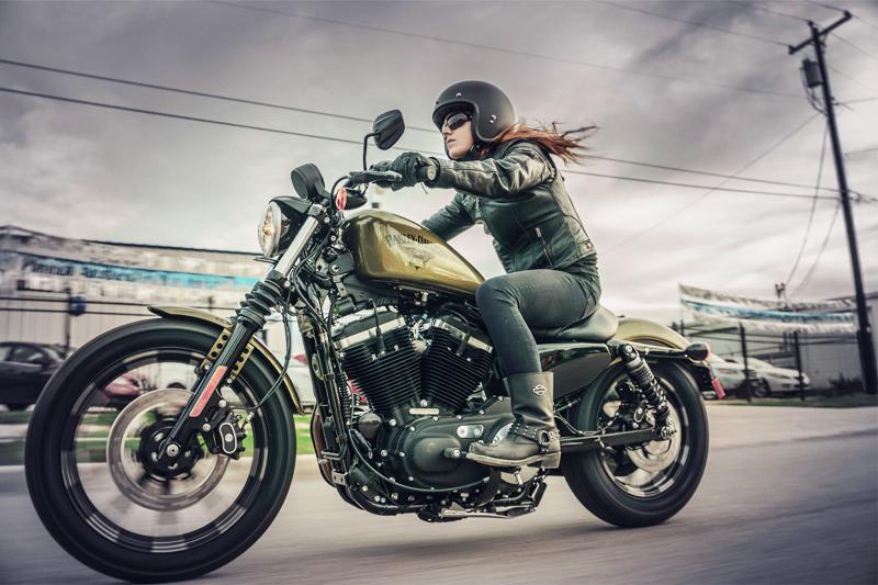 top 10 motorcycles women ride harley davidson sportster iron new