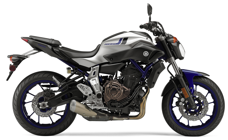 motorcycle review 2016 yamaha fz-07 matte silver