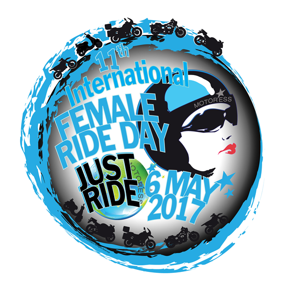 5 things you need to know about international female ride day logo