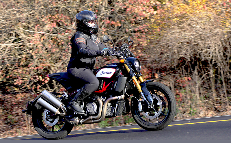 new bike review indian motorcycle ftr 1200 s v-twin roadster aprakovic exhaust