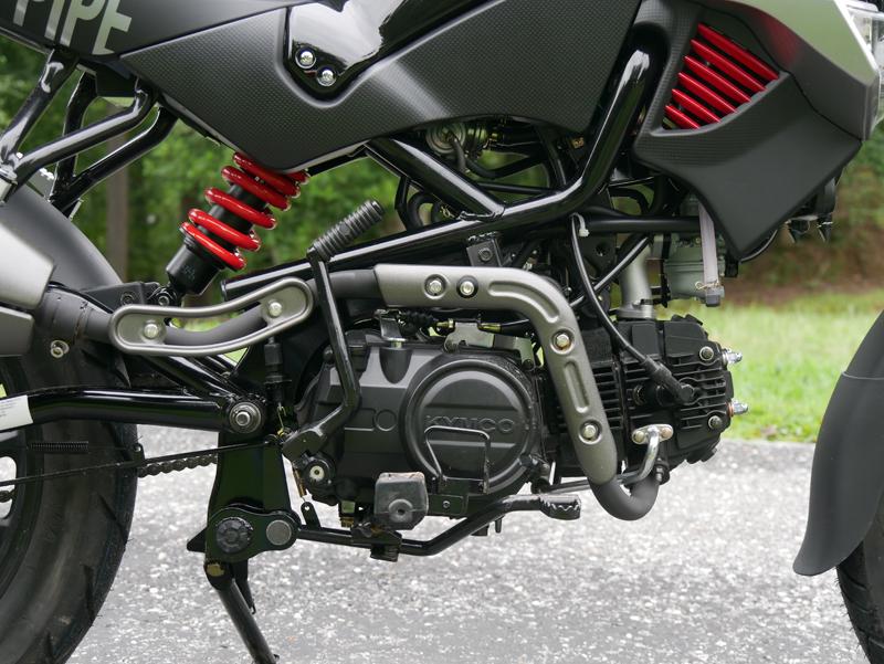 kymco k-pipe 125 small motorcycles big fun engine
