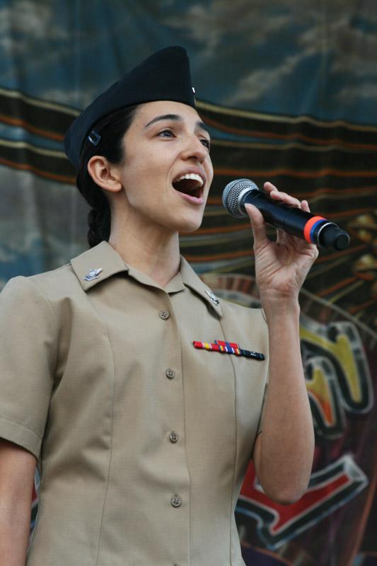 last love ride celebrates veterans national anthem rebecca lopez