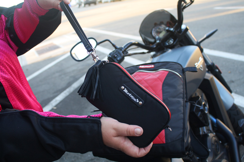 review the lauren bag by motochic wallet