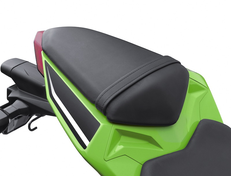 Kawasaki Ninja 300 Review Passenger Seat