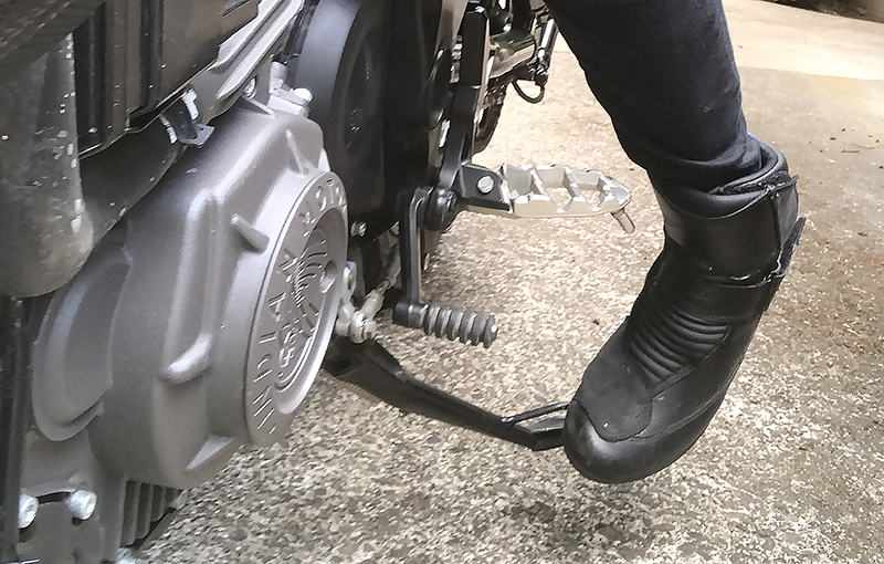 new bike review indian motorcycle ftr 1200 s v-twin roadster sidestand kickstand