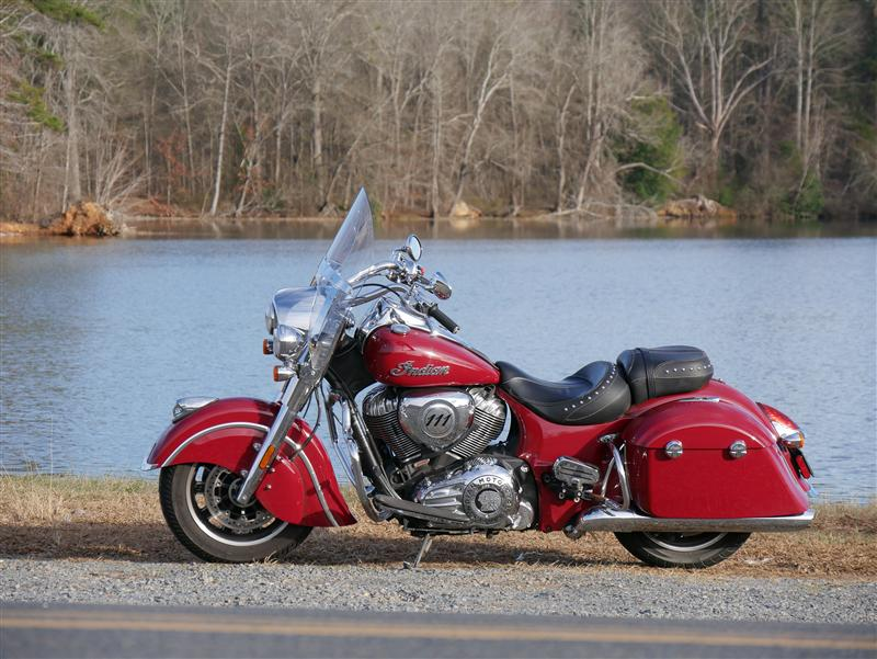 review 2016 2017 indian motorcycle springfield quick release