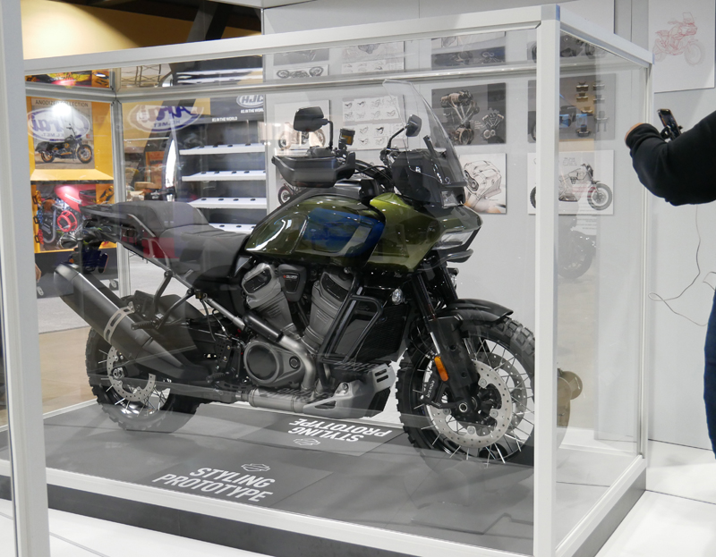 Progressive International Motorcycle Show Long Beach Harley-Davidson Pan America