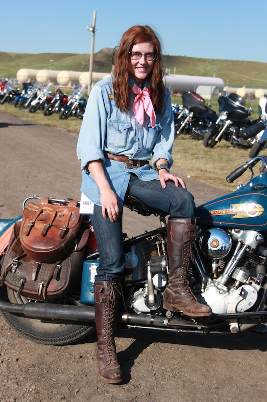 Backroads with Betsy Sturgis 2013 Knucklehead Woman Rider