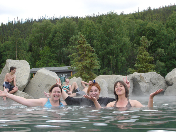 First Womens Tour Alaska Chena Hot Springs