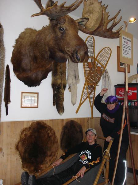 First Womens Tour Alaska Sled