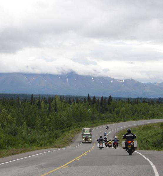First Womens Tour Alaska Riding