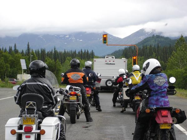 First Womens Tour Alaska Stoplight