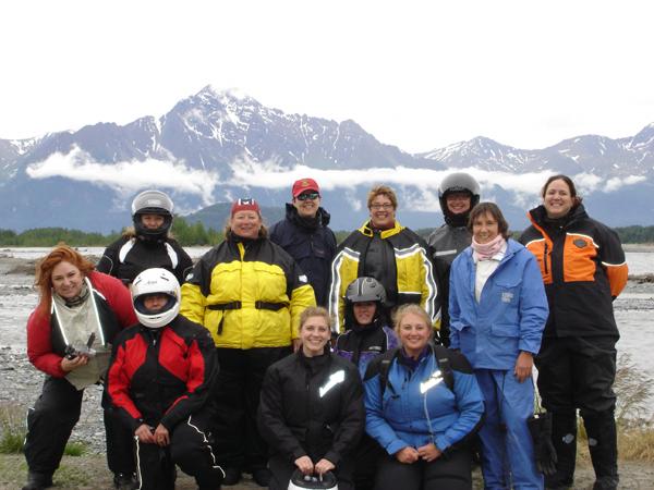 First Womens Tour Alaska Lady Riders