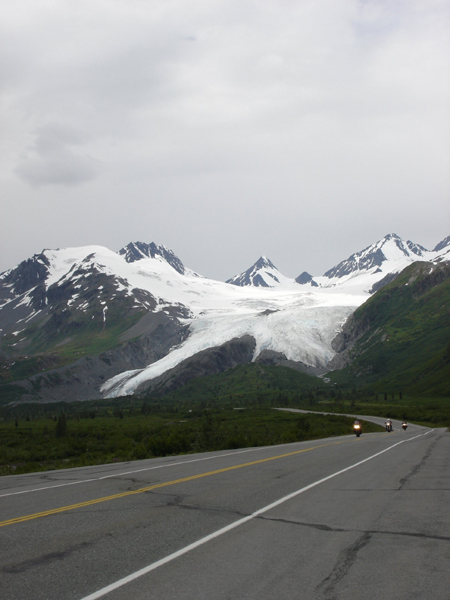 First Womens Tour Alaska Worthington Glacier
