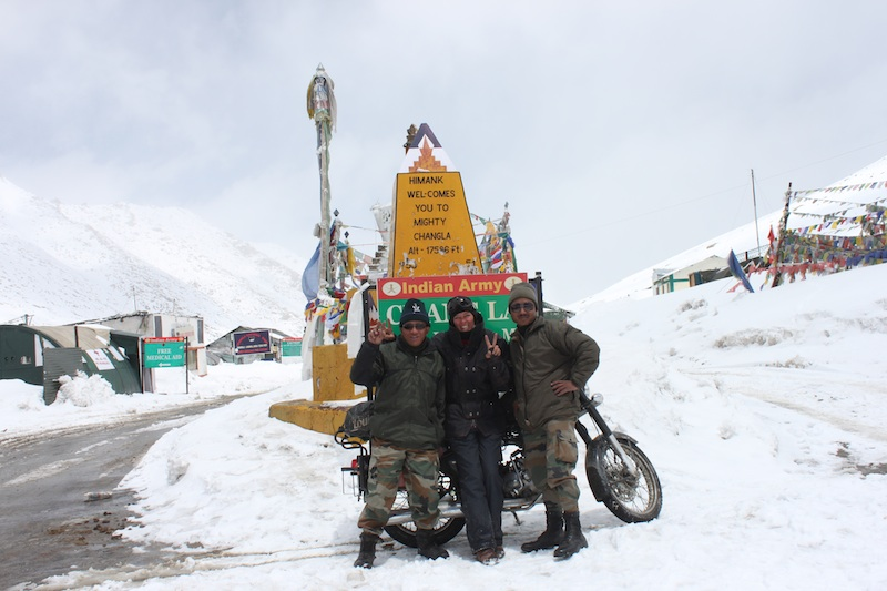 Backroads with Betsy Motorcycling in the Himalayas Changla Summit