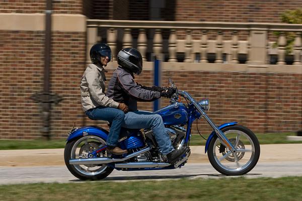 motorcycle review harley davidson rocker c passenger seat