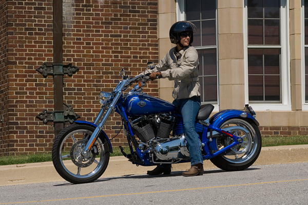 motorcycle review harley davidson rocker c seat height