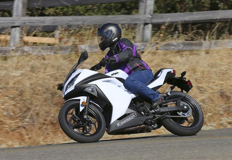 Kawasaki Ninja 300 Seating Position