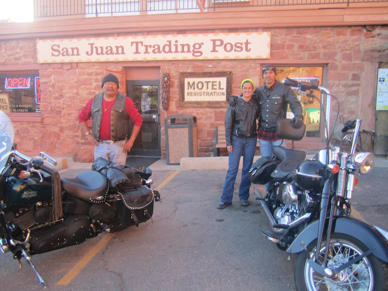 Backroads With Betsy Riding the Rez Part  1San Juan Inn and Trading Post