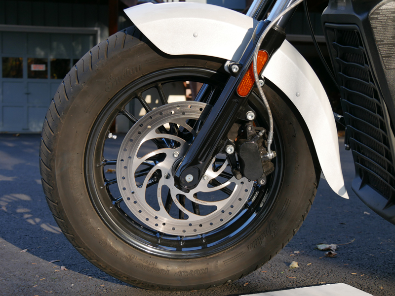 review 2016 indian motorcycle scout sixty front wheel brakes