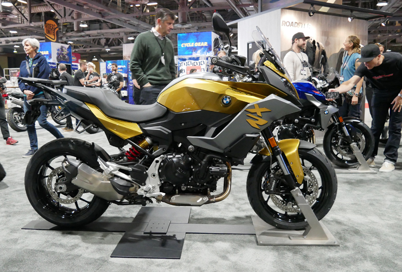 Progressive International Motorcycle Show Long Beach BMW F 900 XR