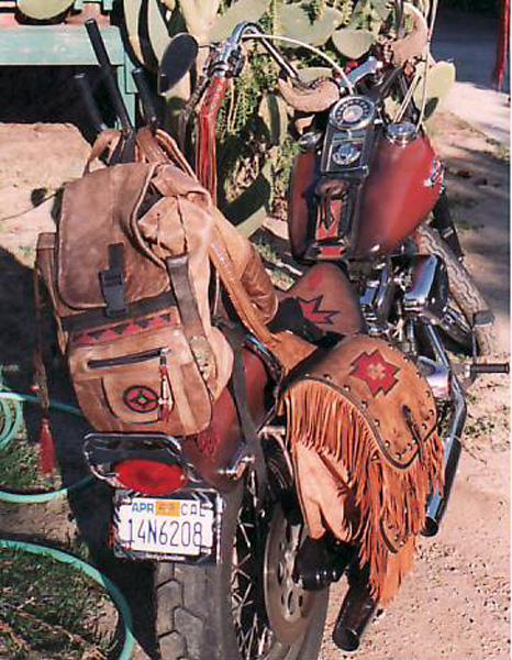 backroads with betsy zen lack of motorcycle maintenance leather saddlebags