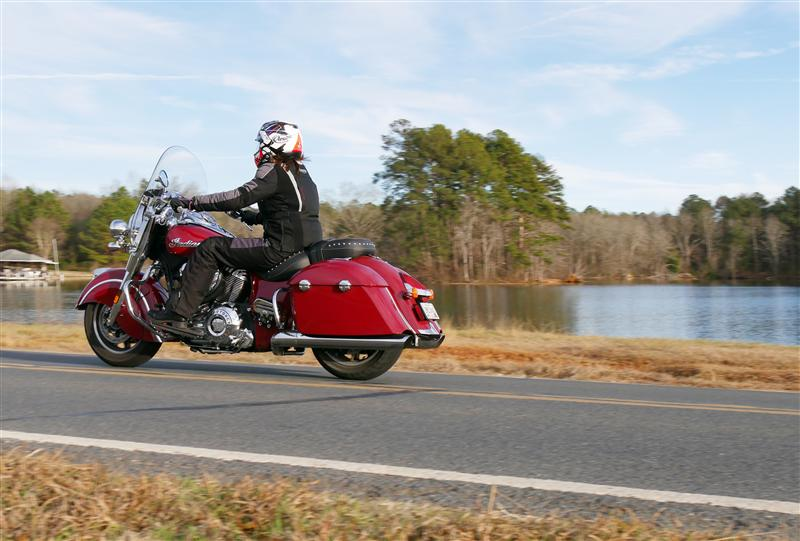 review 2016 2017 indian motorcycle springfield mary ohare riding