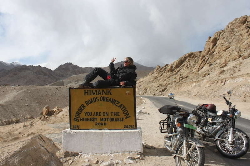Backroads with Betsy Motorcycling in the Himalayas highest motorable roads
