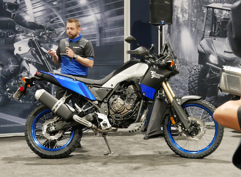 Progressive International Motorcycle Show Long Beach Yamaha Tenere 700
