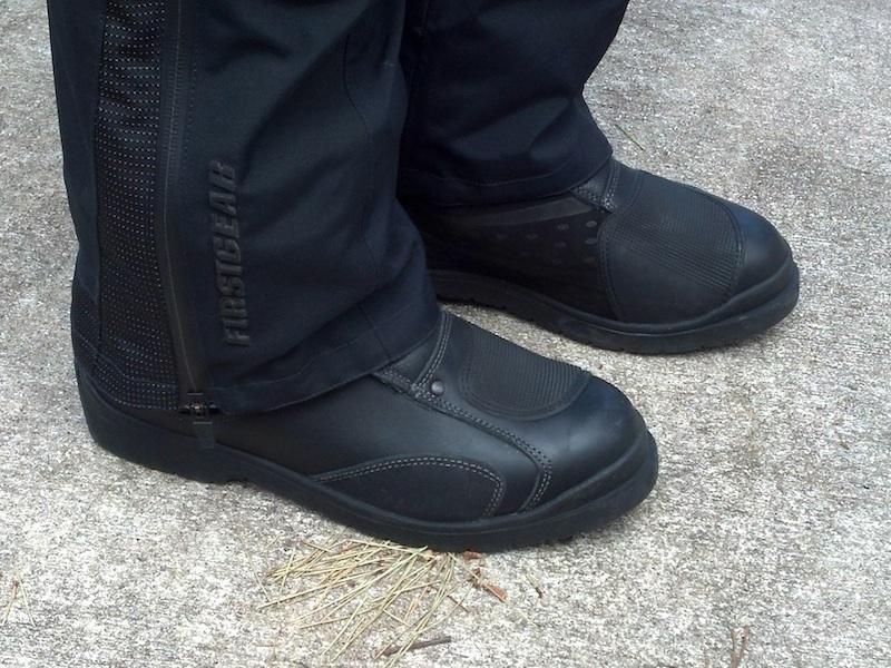 Reader review TCX Infinity GTX boots pantlegs