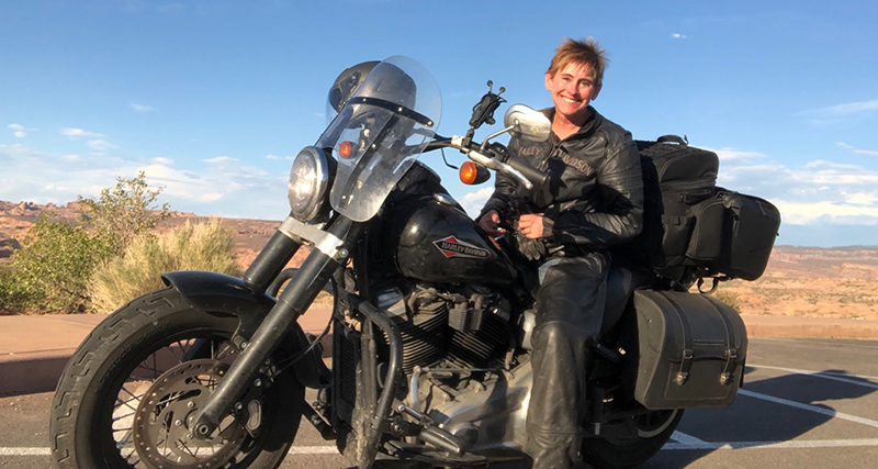 motorcycling therapy arches national park